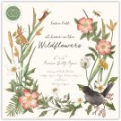"Craft Consortium 6""x6"" Paper Pad - At Home in the Wildflowers (40 sheets)"