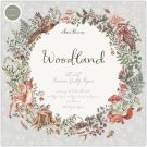 "Craft Consortium 12""x12"" Double-Sided Paper Pad - Woodland (40 sheets)"