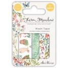 Craft Consortium Washi Tape - Farm Meadow (3 rolls)