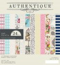 "Authentique - 6""x6"" Dame Bundle Paper Pad (24 sheets)"