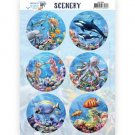 Amy Design Push Out Scenery - Underwater World Sea World