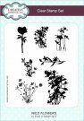 Creative Expressions A5 Clear Stamp Set - Wild Flowers