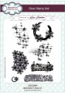 Creative Expressions A5 Clear Stamp Set - Midnight Waltz