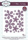 Creative Expressions Dies by Sue Wilson - Finishing Touches Collection Orange Blossom-Complete Petals Die (16 dies)