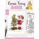 Crafters Companion Clear Stamps - Sally's Christmas Friends