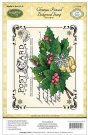 Justrite Cling Stamp - Christmas Postcard