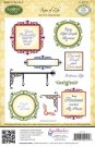 Justrite Cling Stamp Set - Signs of Life (15 stamps)