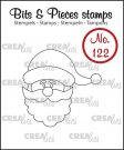 Crealies Clearstamp Bits&Pieces no. 122 Santa Claus