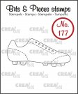 Crealies Clearstamps Bits & Pieces - Sport shoe