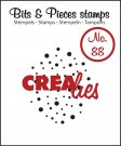 Crealies Clearstamp Bits&Pieces no. 88 cloud of dots