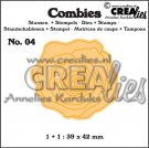 Crealies Combies no.4 rose