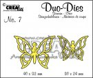 Crealies Duo Dies no. 7 Duo Butterflies 3