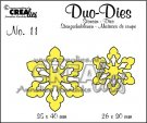 Crealies Duo Dies no. 11 Open Flowers Small #3