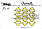 Crealies Decorette no. 6 Die - Background Diamond