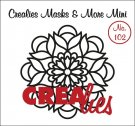 Crealies Masks & More Mini no. 102 Mandala B