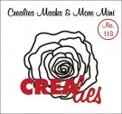 Crealies Masks & More Mini no. 113 roos
