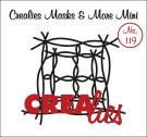 Crealies Masks & More Mini no. 119 twigs