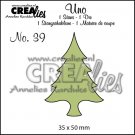 Crealies Uno no. 39 - Thin tree