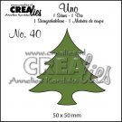 Crealies Uno no. 40 - Wide tree