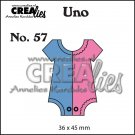 Crealies Uno no. 57 - Onesie (Small)