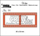 Crealies X-tra Die no. 14 Filmstrip large