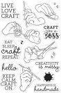 Hero Arts Clear Stamps - Handmade Happiness