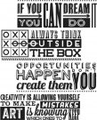 Tim Holtz Stampers Anonymous - Motivation 1