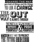 Tim Holtz Stampers Anonymous - Motivation 2