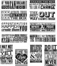 Tim Holtz Stampers Anonymous - Mini Motivation