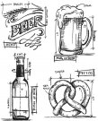 Tim Holtz Stampers Anonymous - Beer Blueprint