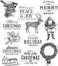 Tim Holtz Stampers Anonymous - Festive Overlay