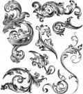 Tim Holtz Stampers Anonymous - Scrollwork