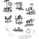 Tim Holtz Stampers Anonymous - Tiny Toadstools