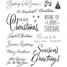 Tim Holtz Stampers Anonymous - Christmastime 3