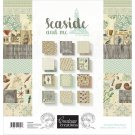 "Couture Creations 12""x12"" Paper Pad - Seaside And Me (24 sheets)"
