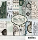 "Couture Creations 6""x6"" Paper Pack - Gentleman's Emporium (24 sheets)"