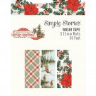 Simple Stories Country Christmas Washi Tape Pack (3 pack)