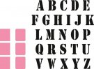 Marianne Design Collectables - Stamp Alphabet