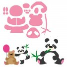 Marianne Design Collectables - Elines Panda & Bear
