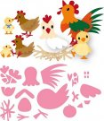 Marianne Design Collectables - Elines Chicken Family