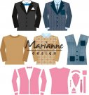 Marianne Design Collectables - Men's Wardrobe
