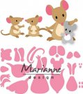 Marianne Design Collectables - Eline`s Mice Family
