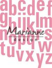 Marianne Design Collectables - Alphabet XXL