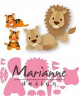 Marianne Design Collectables - Elines Lion/Tiger