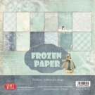 "Craft&You 6""x6"" Paper Pad - Frozen (36 sheets)"