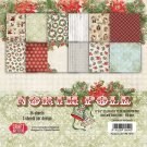 "Craft&You 6""x6"" Paper Pad - North Pole (36 sheets)"