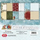 "Craft&You 6""x6"" Paper Pad - White Christmas Christmas (36 sheets)"