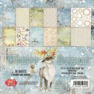 "Craft&You 6""x6"" Paper Pad - Winter Dream (36 sheets)"