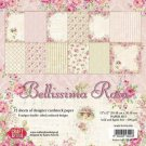 "Craft & You 12""x12"" Paper Pad - Bellissima Rosa (12 sheets)"