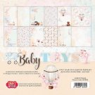 "Craft&You 12""x12"" BIG Paper Set - Baby Toys (12 sheets)"